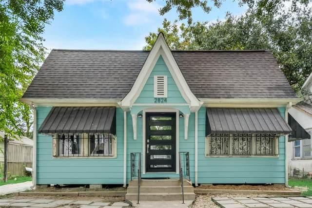 2824 Cetti Street, Houston, TX 77009 (MLS #45904293) :: The Bly Team