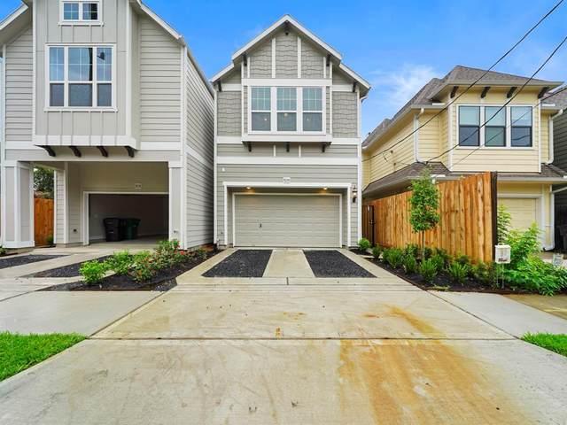 4804 Michaux Street B, Houston, TX 77009 (MLS #45913597) :: Caskey Realty