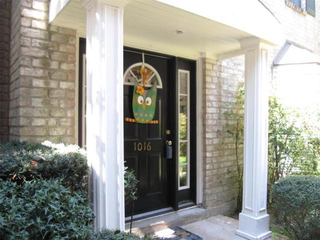 1016 Augusta Drive #1016, Houston, TX 77057 (MLS #45923652) :: Magnolia Realty