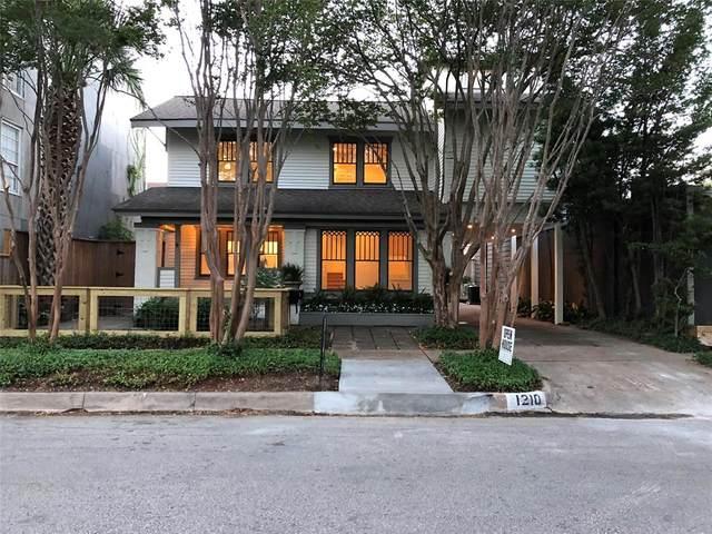 1210 Hawthorne Street, Houston, TX 77006 (MLS #45977831) :: Keller Williams Realty