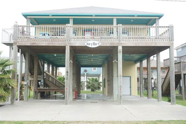 870 Gulfview Drive, Crystal Beach, TX 77650 (MLS #46054115) :: The Home Branch