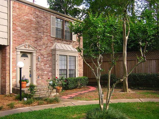 7505 Memorial Woods Drive #54, Houston, TX 77024 (MLS #46119144) :: Homemax Properties
