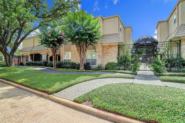 1835 Post Oak Park Drive, Houston, TX 77027 (MLS #46397764) :: Bay Area Elite Properties