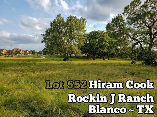 Lot 552 Hiram Cook, Blanco, TX 78606 (MLS #46706074) :: Bray Real Estate Group