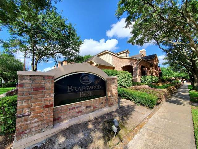 2255 Braeswood Park Drive #124, Houston, TX 77030 (MLS #46757293) :: The SOLD by George Team