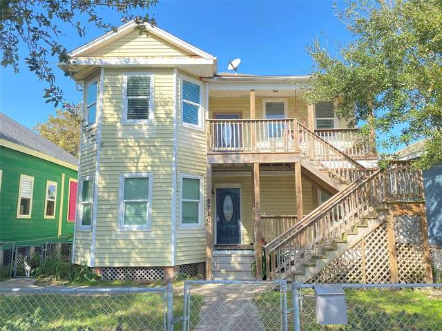 2710 Avenue P 1/2, Galveston, TX 77550 (MLS #4676982) :: Homemax Properties