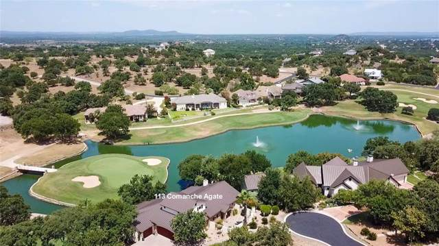 113 Comanche Agate, Horseshoe Bay, TX 78657 (MLS #46848889) :: The SOLD by George Team