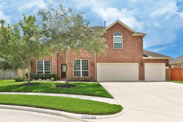 4604 Pompton Court, Pearland, TX 77584 (MLS #46923526) :: The SOLD by George Team