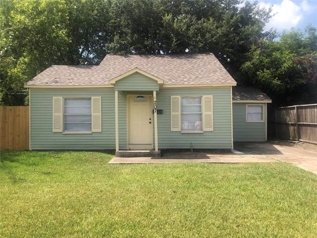 207 Calvin Street, Pasadena, TX 77506 (MLS #47085692) :: The Heyl Group at Keller Williams
