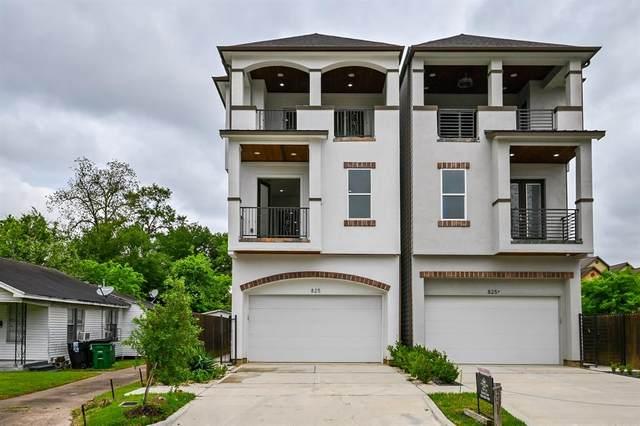 825 W 16th Street A, Houston, TX 77008 (#47209493) :: ORO Realty