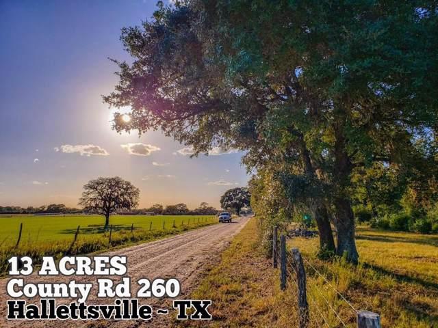 13-ac County Rd 260, Hallettsville, TX 77964 (MLS #47413078) :: Guevara Backman