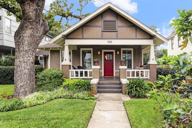 1505 Allston Street, Houston, TX 77008 (MLS #47674374) :: Caskey Realty