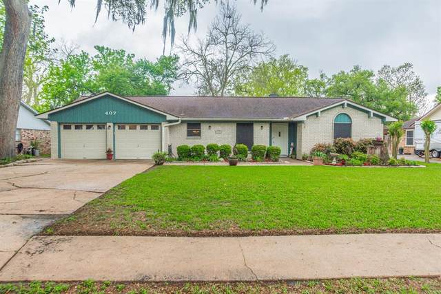 407 Petunia Street, Lake Jackson, TX 77566 (MLS #47774816) :: The Sansone Group