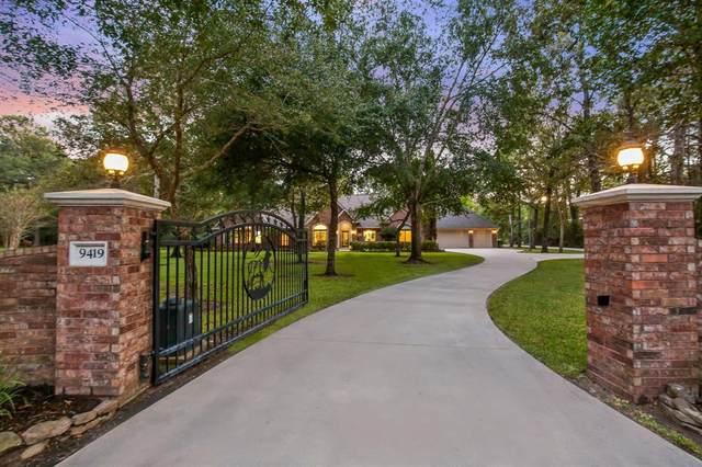 9419 Sendera Drive, Magnolia, TX 77354 (MLS #47844390) :: My BCS Home Real Estate Group
