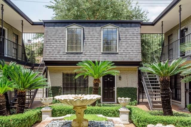 3402 Garrott Street #8, Houston, TX 77006 (MLS #48182351) :: The Heyl Group at Keller Williams