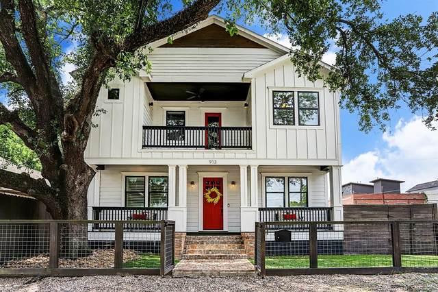 913 Cordell Street, Houston, TX 77009 (MLS #48388332) :: Giorgi Real Estate Group