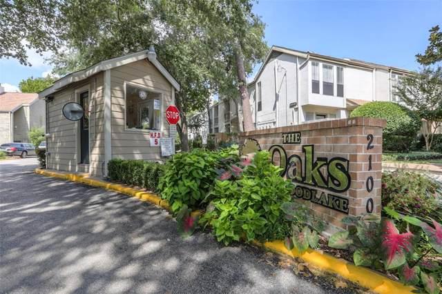 2100 Tanglewilde Street #402, Houston, TX 77063 (MLS #48392783) :: Caskey Realty