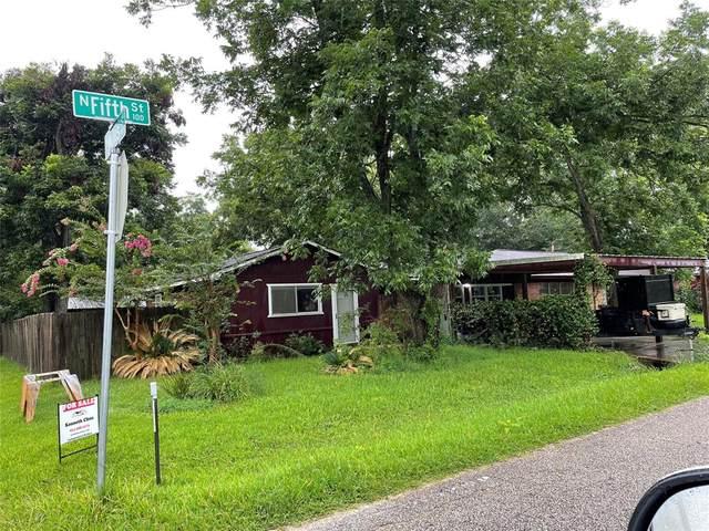 116 N 5th Street N, Alvin, TX 77511 (MLS #48630068) :: My BCS Home Real Estate Group