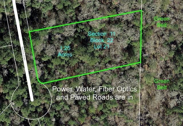 11-22-21 Radius Road, Huntsville, TX 77340 (MLS #48698708) :: My BCS Home Real Estate Group