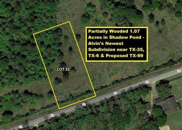 Lot 33 County Road 160, Alvin, TX 77511 (MLS #48767765) :: The Freund Group