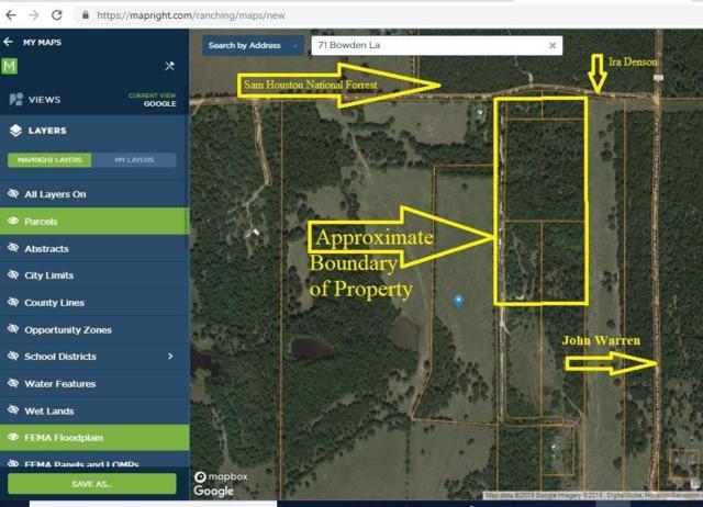 71 Bowden Lane, Coldspring, TX 77331 (MLS #48864900) :: The Home Branch