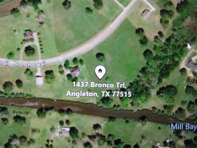 1437 Bronco Trail, Angleton, TX 77515 (MLS #48873381) :: TEXdot Realtors, Inc.
