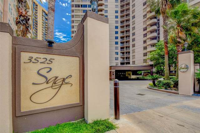 3525 Sage Road Road #313, Houston, TX 77056 (MLS #49121777) :: The Jill Smith Team