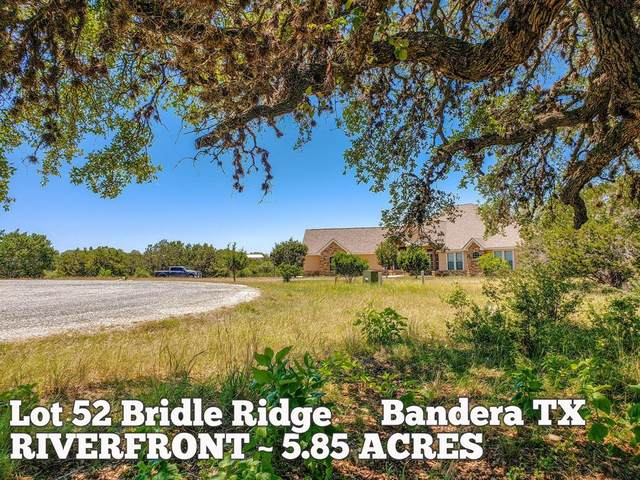 Lot 52 Bridle Ridge, Bandera, TX 78003 (MLS #49459825) :: The Heyl Group at Keller Williams
