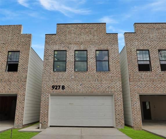 927 W 25th Street B, Houston, TX 77008 (MLS #49963147) :: Texas Home Shop Realty