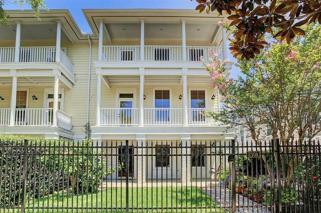 210 Hawthorne Street A, Houston, TX 77006 (MLS #50221265) :: Green Residential