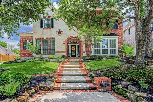 6110 Peachtree Hill Court, Kingwood, TX 77345 (MLS #50253025) :: The Parodi Team at Realty Associates