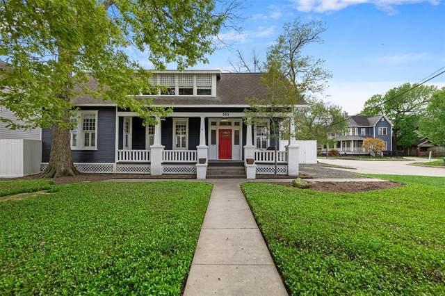 302 E 24th Street, Houston, TX 77008 (MLS #50278702) :: The Sansone Group