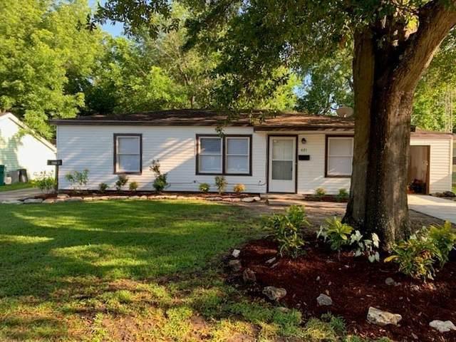 621 Honeysuckle Drive, La Marque, TX 77568 (MLS #50357406) :: The Home Branch