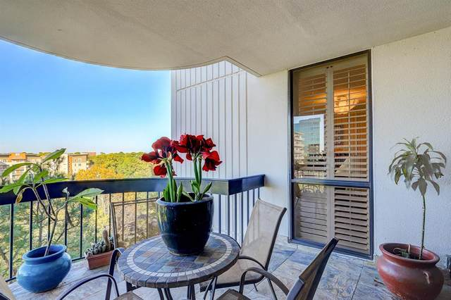5001 Woodway Drive #805, Houston, TX 77056 (MLS #50536793) :: The Freund Group