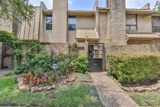 3138 W Holcombe Boulevard #8138, Houston, TX 77025 (MLS #50624582) :: Giorgi Real Estate Group