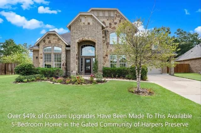 8345 Greenleaf Ridge Way, Conroe, TX 77385 (MLS #50766733) :: Giorgi Real Estate Group
