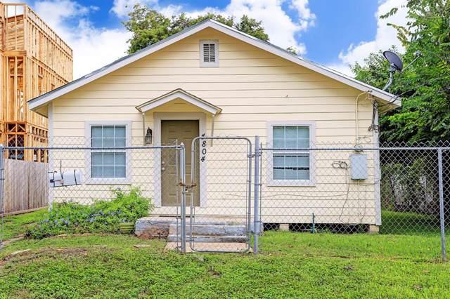 4804 Terry Street, Houston, TX 77009 (MLS #50888910) :: The Jill Smith Team