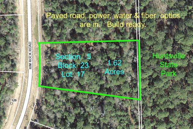 5-23-17 Rim Rock Road, Huntsville, TX 77340 (MLS #51322586) :: Green Residential