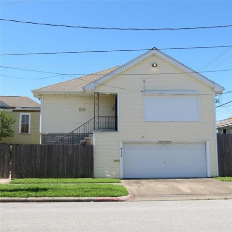 513 9th Street, Galveston, TX 77550 (MLS #51390880) :: NewHomePrograms.com LLC