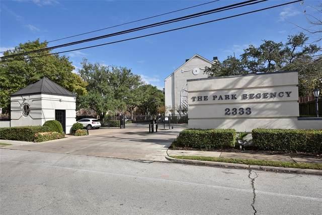 2333 Bering Drive #136, Houston, TX 77057 (MLS #51414921) :: Giorgi Real Estate Group