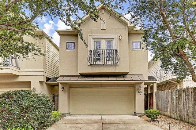 5419 Kiam Street B, Houston, TX 77007 (MLS #51532107) :: Giorgi Real Estate Group