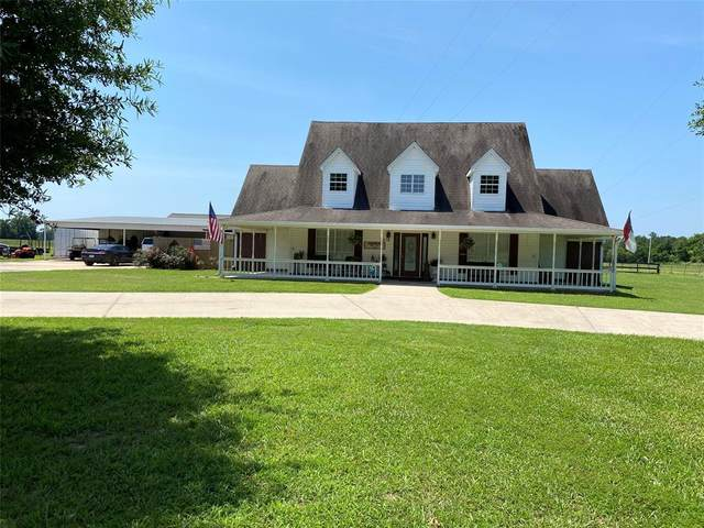 414 County Road 4430, Spurger, TX 77660 (MLS #51644667) :: The Home Branch