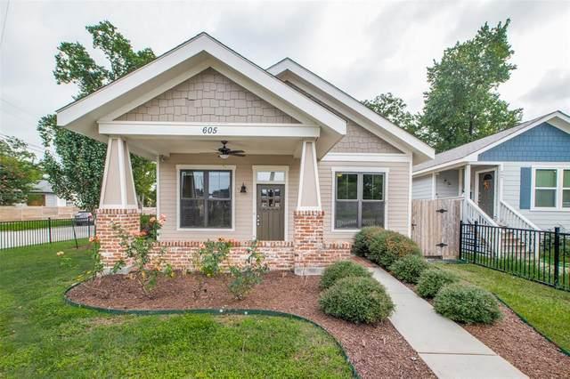 605 E 34th Street E, Houston, TX 77022 (MLS #5212058) :: My BCS Home Real Estate Group