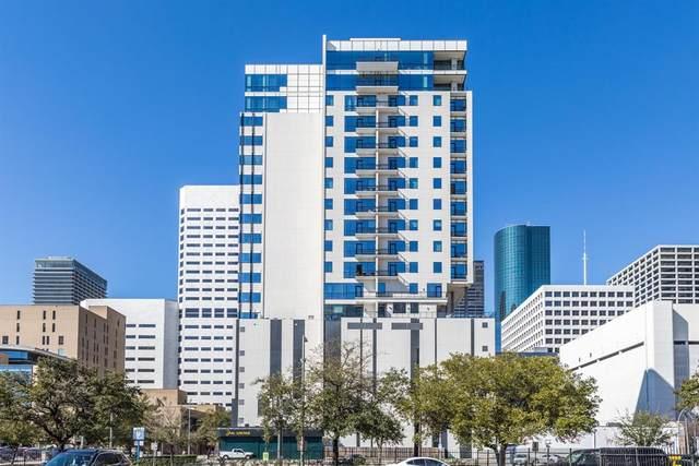 1211 Caroline Street #1209, Houston, TX 77002 (MLS #52266104) :: Rachel Lee Realtor