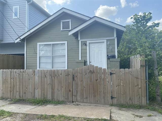 2306 Nagle Street, Houston, TX 77004 (MLS #52344471) :: The SOLD by George Team