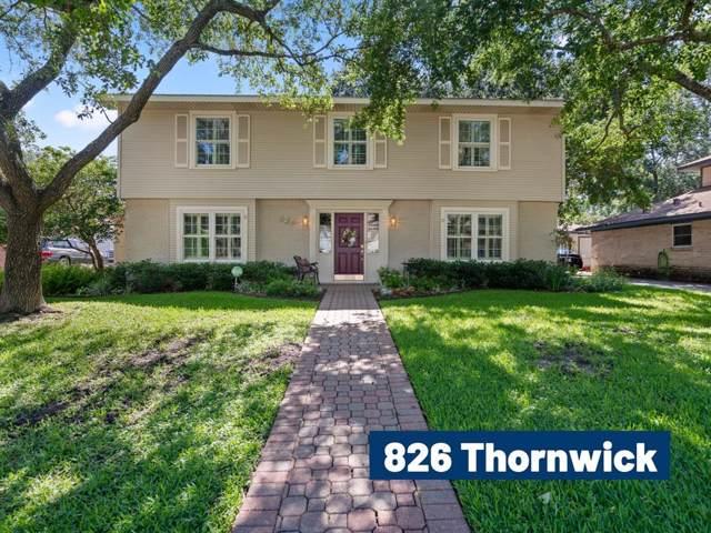 826 Thornwick Drive, Houston, TX 77079 (MLS #52387631) :: The Heyl Group at Keller Williams