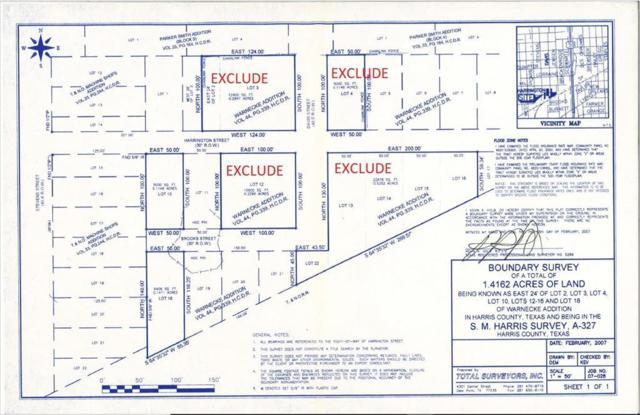 0 Harrington, Houston, TX 77026 (MLS #52500920) :: Texas Home Shop Realty