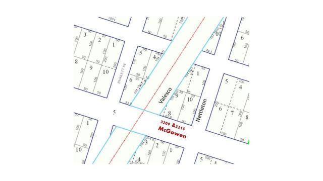 3209 & 3215 Mcgowen Street, Houston, TX 77004 (MLS #52566663) :: The Parodi Team at Realty Associates