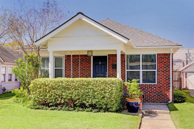 1039 Alexander, Houston, TX 77008 (MLS #53089547) :: Texas Home Shop Realty