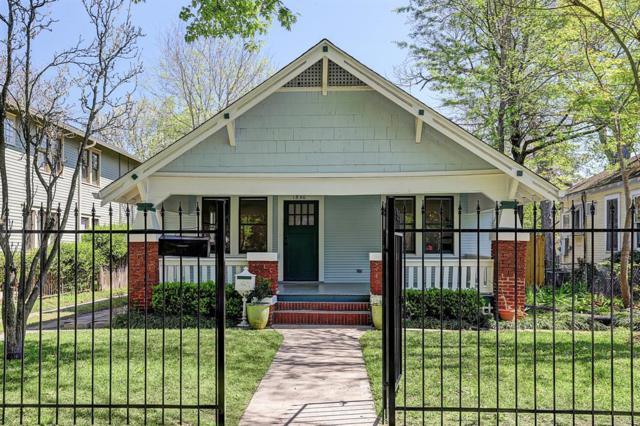 1840 Harvard Street, Houston, TX 77008 (MLS #53130855) :: Giorgi Real Estate Group